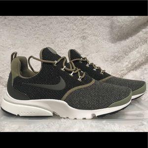 Womens Nike Presto Fly Se Olive Green